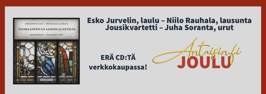Tuomaanpäivää sanoin ja sävelin - Esko Jurvelin ja Niilo Rauhala - ERÄ verkkokaupassa! Antaisin.fi