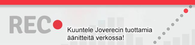 Rec - Kuuntele Joverecin tuottamia äänitteitä verkossa!