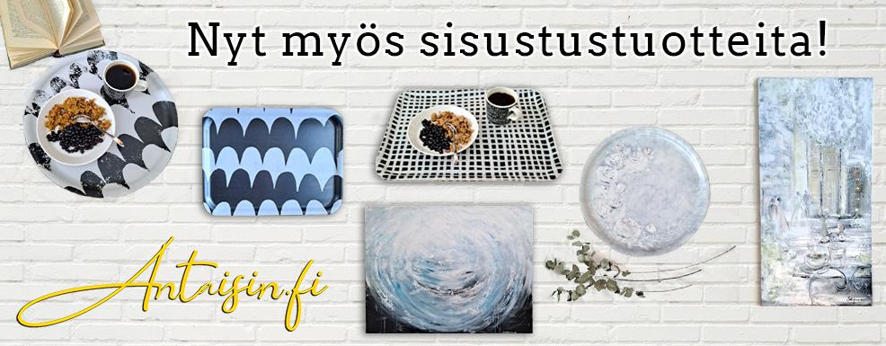 Nyt myös sisustustuotteita! Antaisin.fi